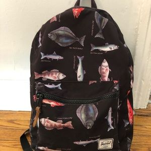 Hershel settlement backpack fish print
